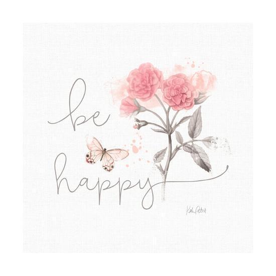 Sunny Day VIII Pink-Katie Pertiet-Art Print