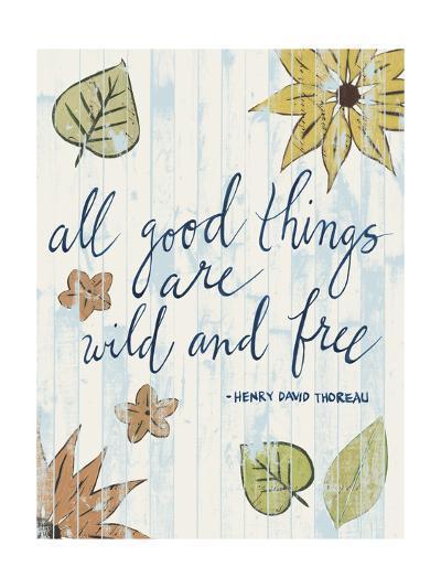 Sunny Day Words IV-Grace Popp-Art Print