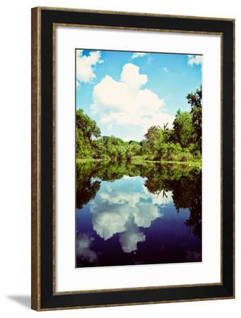 Sunny Days On The River-Bruce Nawrocke-Framed Photo