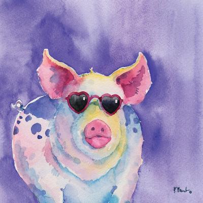 Sunny Farm III-Paul Brent-Art Print