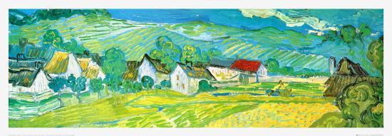 Sunny Meadow in Arles, c.1890 (detail)-Vincent van Gogh-Art Print