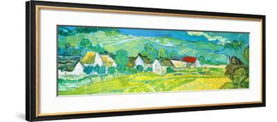 Sunny Meadow in Arles, c.1890 (detail)-Vincent van Gogh-Framed Art Print