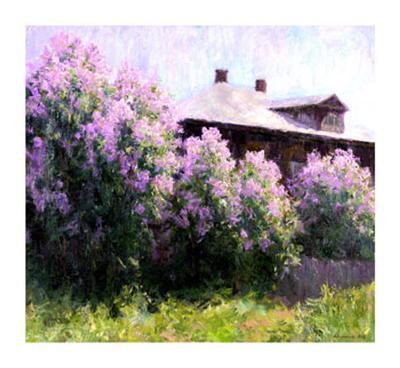 Sunny Morning-Alexander Kosnichev-Giclee Print