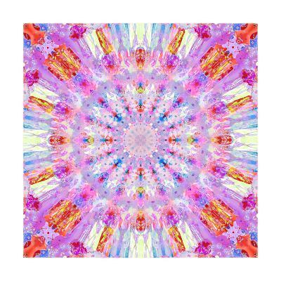 Sunny Rhasperry Kaleidoscope-Alaya Gadeh-Art Print