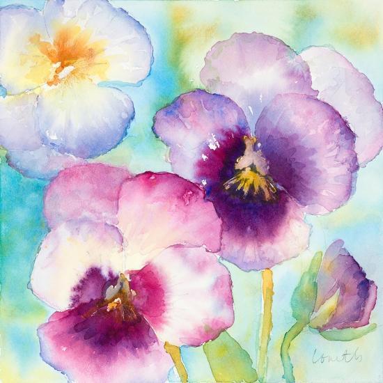 Sunny Side Orchids-Lanie Loreth-Art Print