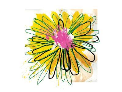 Sunny Splash Flower-Elle Stewart-Art Print