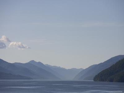 Sunny Summer Day on the Haze of the Inside Passage-Taylor S^ Kennedy-Photographic Print