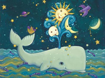 Sunny Whale-Viv Eisner-Art Print