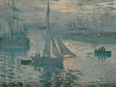 Sunrise, 1873-Claude Monet-Giclee Print