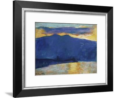Sunrise, 1896-Edgar Degas-Framed Giclee Print