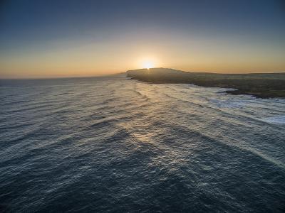 Sunrise Above Ka'Ehu Point on Molokai's North Shore-Richard A^ Cooke-Photographic Print