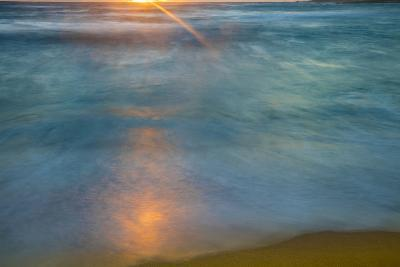 Sunrise Above Kawa'Aloa Bay on Molokai's North Shore-Richard A^ Cooke-Photographic Print