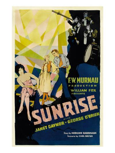Sunrise, (Aka 'sunrise: a Song of Two Humans'); in Foreground, 1927--Photo