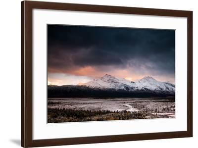 Sunrise, Alaskan Range-Lindsay Daniels-Framed Photographic Print