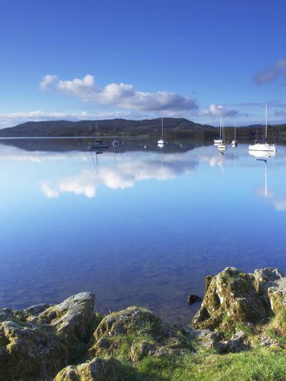 Sunrise, Ambleside, Lake Windermere, Lake District National Park, Cumbria, England, UK, Europe-Jeremy Lightfoot-Photographic Print