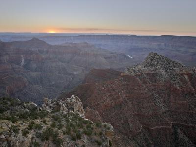 Sunrise at Cape Royal, North Rim, Grand Canyon National Park, Arizona-James Hager-Photographic Print