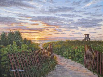Sunrise at Delray Beach-Bruce Dumas-Giclee Print