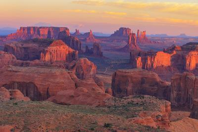 Sunrise at Hunts Mesa Viewpoint-aiisha-Photographic Print