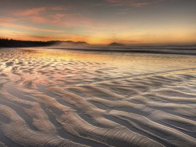 Sunrise at Long Beach in Pacific Rim National Park on the West Coast of Vancouver Island-Kyle Hammons-Photographic Print
