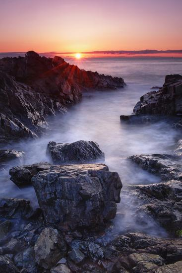 Sunrise at Marginal Way-Michael Blanchette Photography-Photographic Print