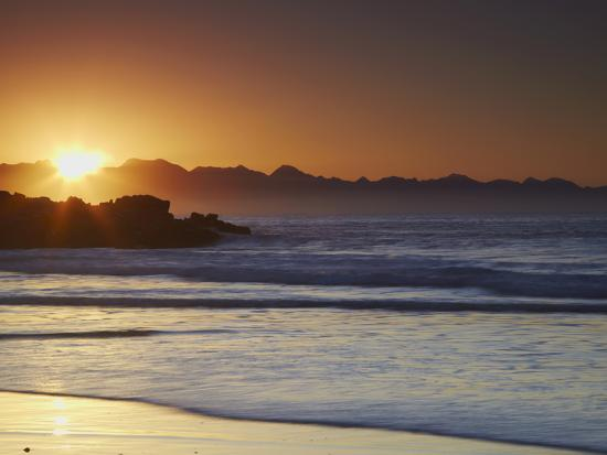 Sunrise at Plettenberg Bay, Western Cape, South Africa, Africa-Ian Trower-Photographic Print