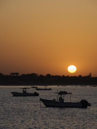 Sunrise at Saly, Senegal, West Africa, Africa-Robert Harding-Photographic Print