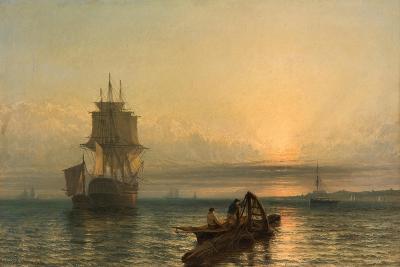 Sunrise at Sea, 1861–-66-Henry Dawson-Giclee Print