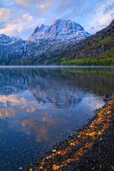 Sunrise at Silver Lake, California, Usa, September 2010-Bill Wight-Photographic Print