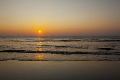 Sunrise At the Beach in Corolla, North Carolina-John Burcham-Photographic Print