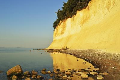 Sunrise at the Chalk Cliffs-Jochen Schlenker-Photographic Print