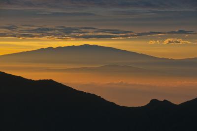 Sunrise Atop Haleakala, an Extinct Volcano on the Island of Maui in Hawaii-Karen Kasmauski-Photographic Print