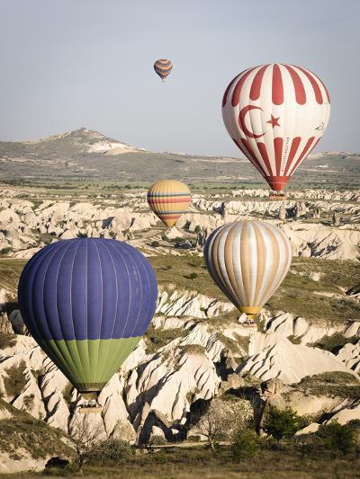 Sunrise Balloon Flight, Cappadocia, Turkey-Matt Freedman-Photographic Print