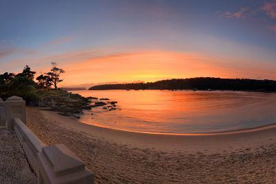 Sunrise Balmoral Beach Panorama  Australia-lovleah-Photographic Print