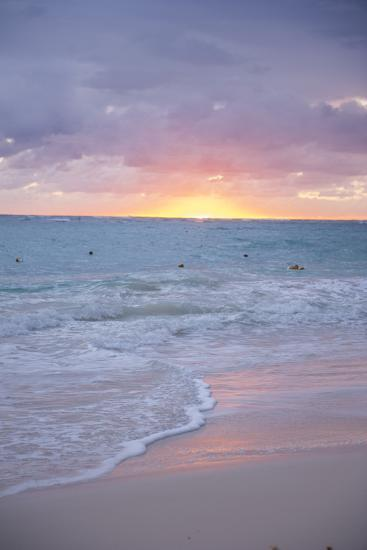 Sunrise, Bavaro Beach, Higuey, Punta Cana, Dominican Republic-Lisa S^ Engelbrecht-Photographic Print