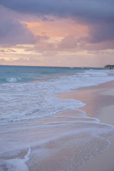 Sunrise, Bavaro Beach, Higuey, Punta Cana, Dominican Republic-Lisa S^ Engelbrecht-Photographic Print