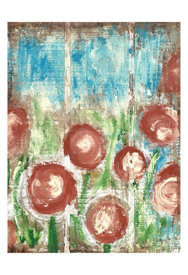 Sunrise Bloom 1-Erin Butson-Art Print