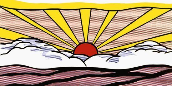 Sunrise, c.1965-Roy Lichtenstein-Art Print