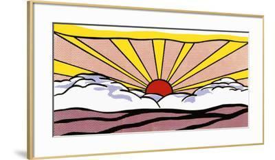 Sunrise, c.1965-Roy Lichtenstein-Framed Art Print
