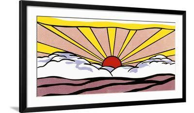 Sunrise, c.1965-Roy Lichtenstein-Framed Art Print