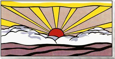 Sunrise, c.1965-Roy Lichtenstein-Framed Print Mount