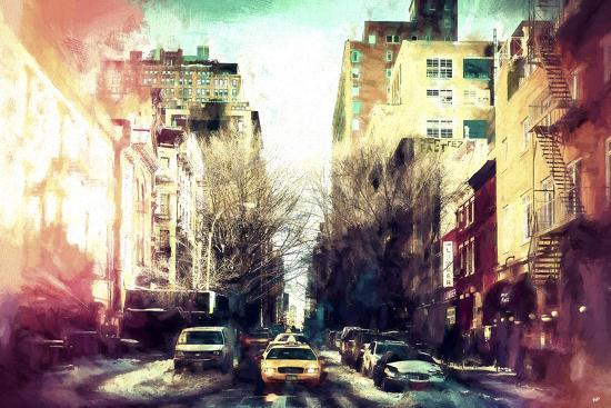 Sunrise Colors NYC-Philippe Hugonnard-Giclee Print