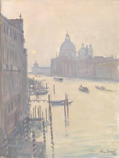Sunrise from Accademia Bridge, 2009-Julian Barrow-Giclee Print
