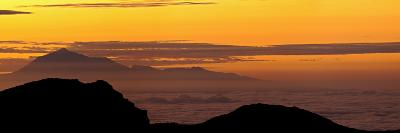 Sunrise from Atop La Palma Island-Babak Tafreshi-Photographic Print