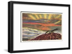 Sunrise from Pike's Peak, Colorado