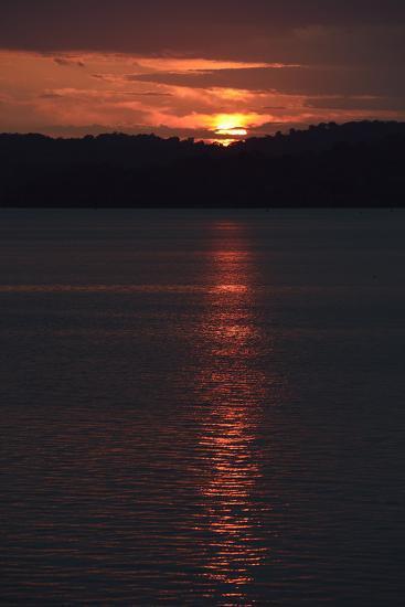 Sunrise from the Anchorage of Barro Colorado Island-Jonathan Kingston-Photographic Print