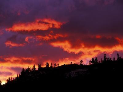 Sunrise, Glacier National Park, Montana, USA-Art Wolfe-Photographic Print