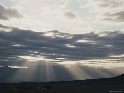 Sunrise in Death Valley, with Amargosa Range in Background-Gordon Wiltsie-Photographic Print