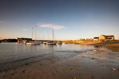Sunrise in Lyme Regis, Dorset England UK-Tracey Whitefoot-Photographic Print