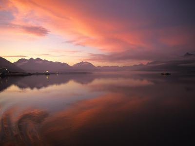 Sunrise in Valdez, Alaska-Michael S^ Quinton-Photographic Print