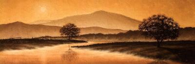 Sunrise Landscape I-Steve Bridger-Art Print